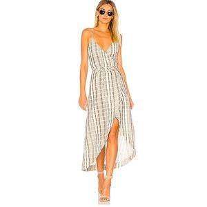 One Teaspoon Wrap Midi Dress